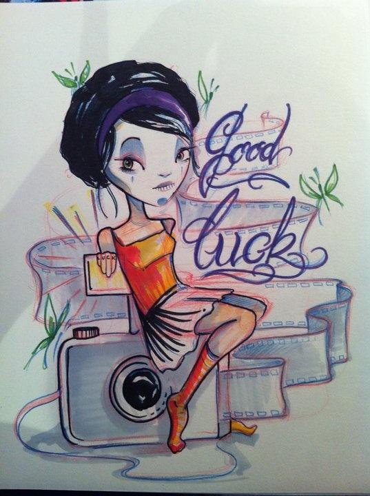 dibujo de mi genial hija Maria