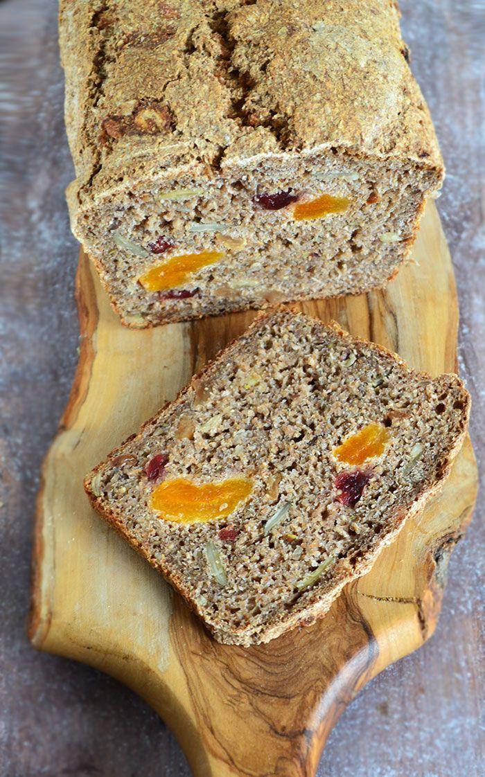 Bakaliowy chleb żytni na zakwasie