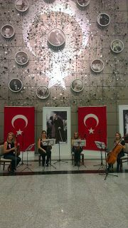 Mousa Quartet: Kara Harp Akademileri 10 Kasım Atatürk'ü Anma Töre...