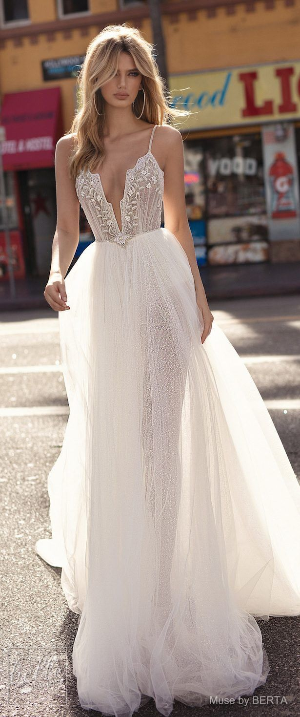 MUSE by BERTA Spring 2019 Wedding Dresses – City of Angels Bridal Collection. La…