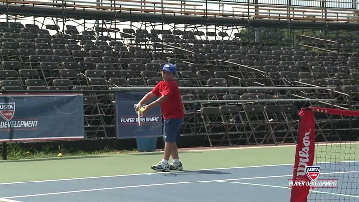 10 and Under Tennis Videos| 36 Red Serve Technique