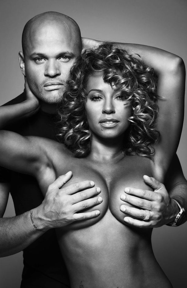 Mel B, aka Scary Spice, and her husband, Stephen Belafonte