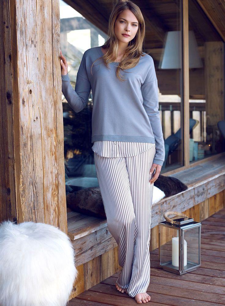 Penye Mood 7809 Bayan Pijama Takım | Mark-ha.com