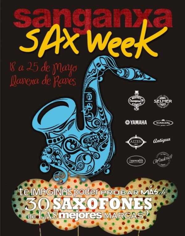 Semana dedicada al Saxofón en Sanganxa Music Store