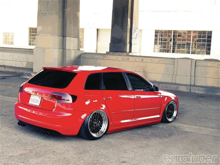 This flawless 2007 Audi A3 is sitting perfectly on a set of BBS beauties.