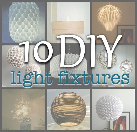 Simply Living 10 Diy Light Fixtures Ideas For The House