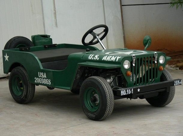 Army Jeep Go Kart My Hobbie Pinterest Cars Places