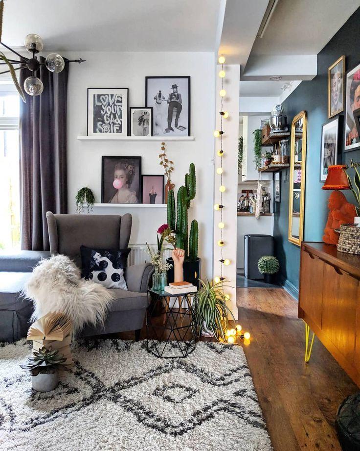 Finden Sie Tonnen Dekor Inspiration in diesem skurrilen und farbenfrohen Haus in Großbritanni… #EklektischeEinrichtung