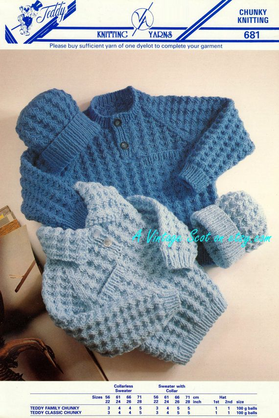 Child s Knit Hat Pattern Bulky Yarn : 1982 best images about Pletieme pre deti - knitting on ...