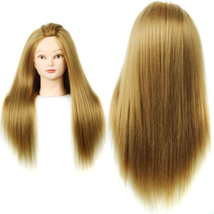 22inch Training Head For Hairdressers Mannequin Head With Hair Dummy Hair Mannequins For Sale Mannequin Head With Makeup