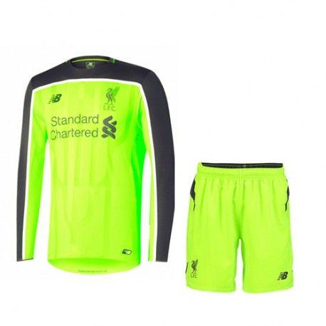 £19.99 Liverpool Kids Third Kit Long Sleeve 2016 2017