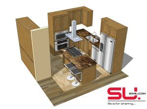 Kitchen Archives Page 6 Of 8 3d Mili Free Sketchup Models