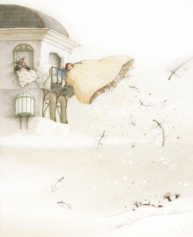 Eve Tharlet - Livre de l'Avent