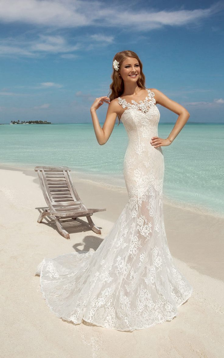 52 best Mermaid Wedding Dresses images on Pinterest | Mermaid ...