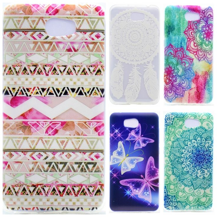 Silicone TPU Phone Case sFor Huawei Y5II Y5 II 2 Butterfly Case For Huawei Y6 II Y6II Compact Honor 5A LYO-L21 Back cover
