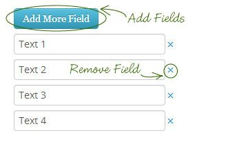 Add/Remove Input Fields Dynamically with jQuery