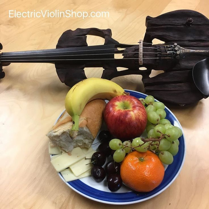 Chris's breakfast looked so photogenic that we just had to take this picture. . . It still needs a title though. Please help us. . . #violin #violinist #violinplayer #instrument #violon #violine #violino #скрипка #skrzypce #fiddle #fiddleplayer #violinistsofinstagram #violinpostss #instaviolin #electricviolin #electroviolin #musicstore #viola #cello #electricviola #electriccello #elettricviolin #violinelectrico #pinviolin