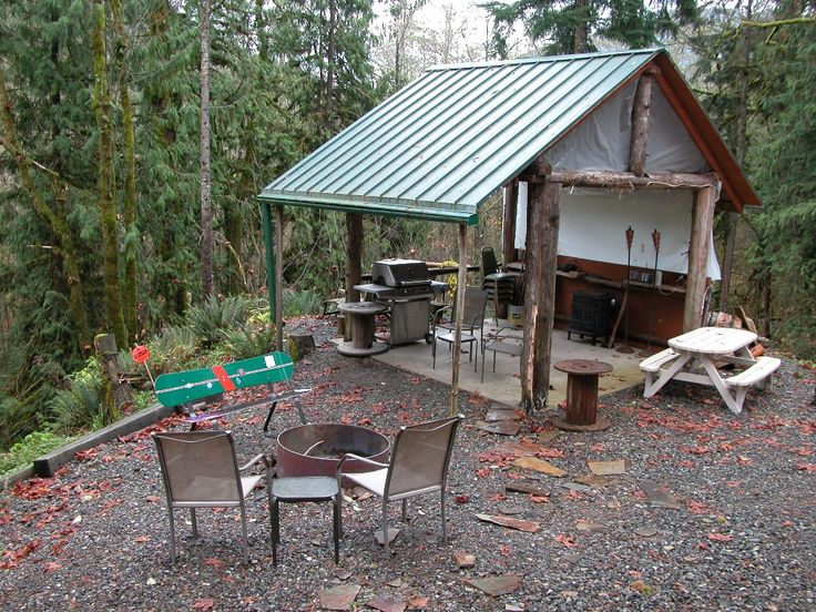 Outdoor Fire Pit Shelter : Best images about picnic shelters on pinterest