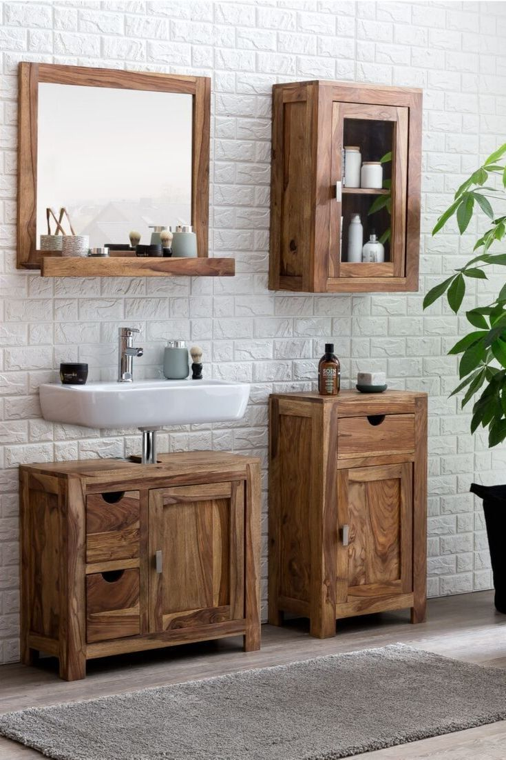 Waschbeckenunterschrank Lagos Waschbeckenunterschrank Waschtisch Badezimmer Klein