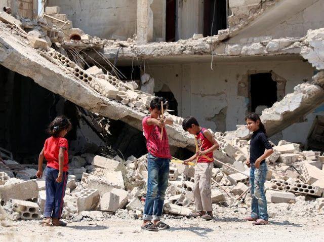 Syria war : Children shouldn't be war victims