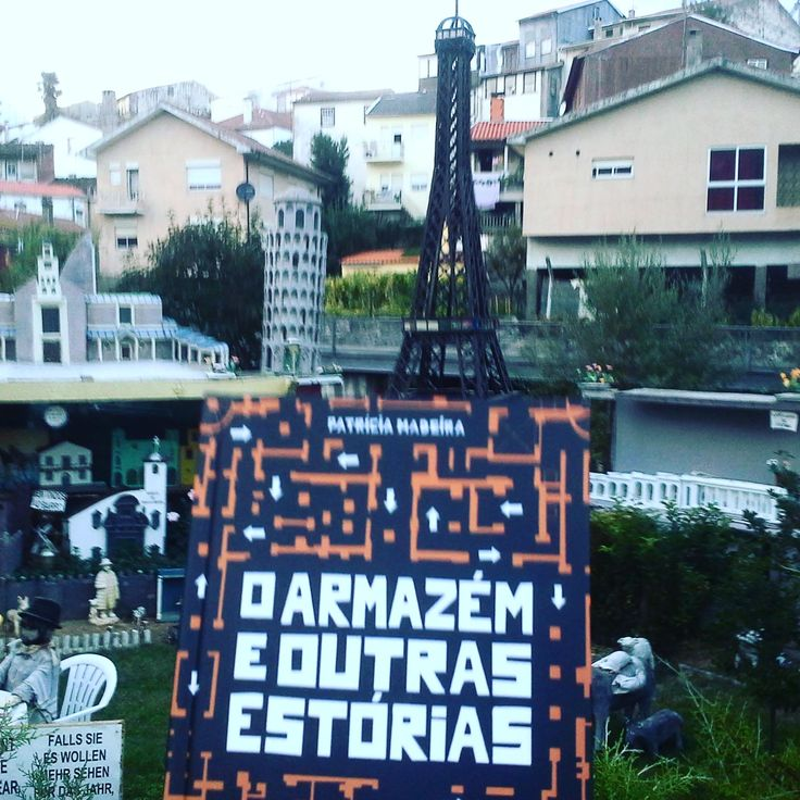 ♥ Loving the pictures that readers of O Armazém e Outras Estórias/The Warehouse and Other Stories are sending of their reading experiences. This time the book went to Bragança. Thank you, José! #oarmazemeoutrasestorias