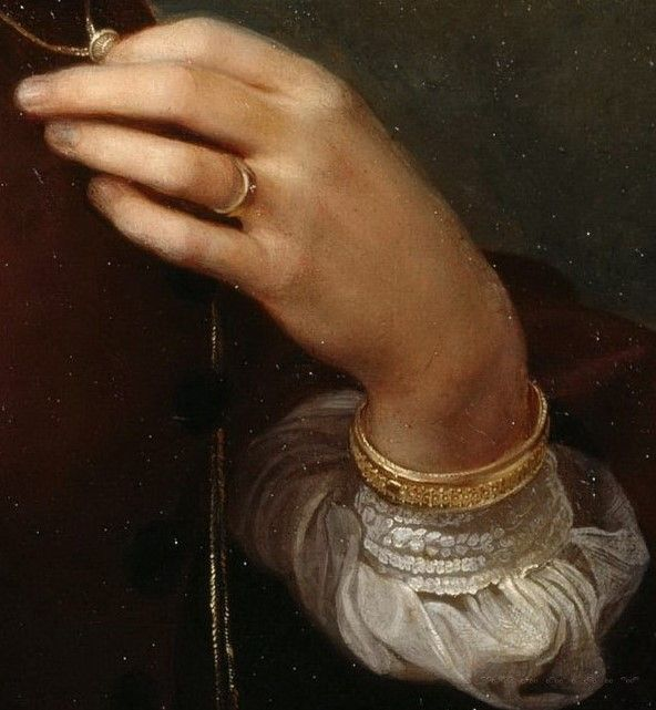 Mrs Agnes Jordan by Theodor Grosse, 1865