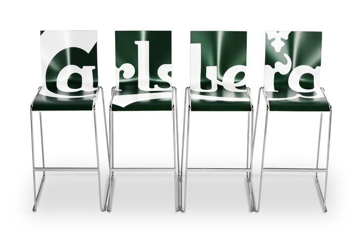 Carlsberg bar stools