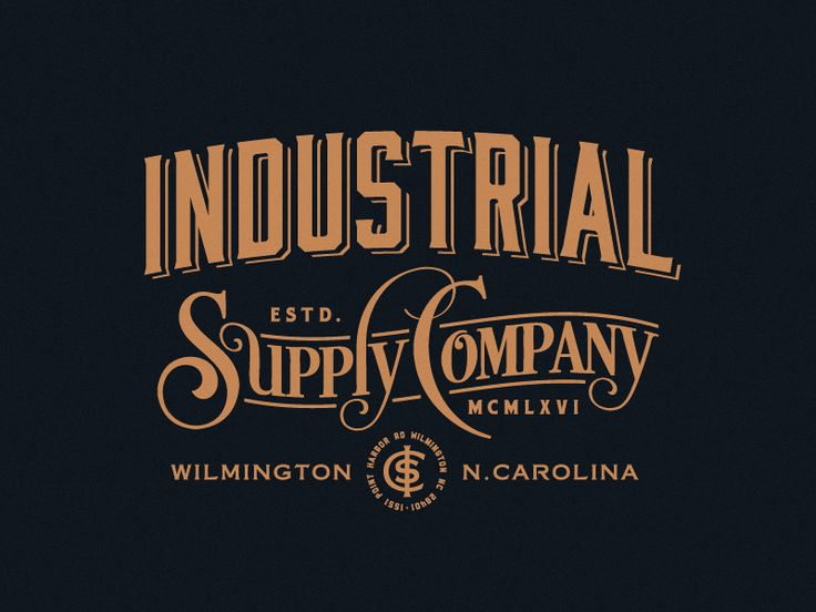 Industrial Supply Company by Emir Ayouni #Design Popular #Dribbble #shots