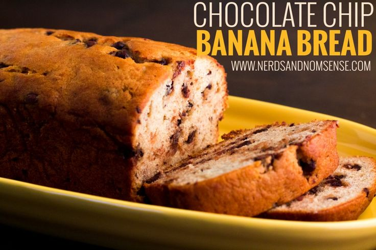 Chocolate Chip Banana Bread | Delicious, moist and full of flavor! Save those bananas from the bin and make this delicious loaf.