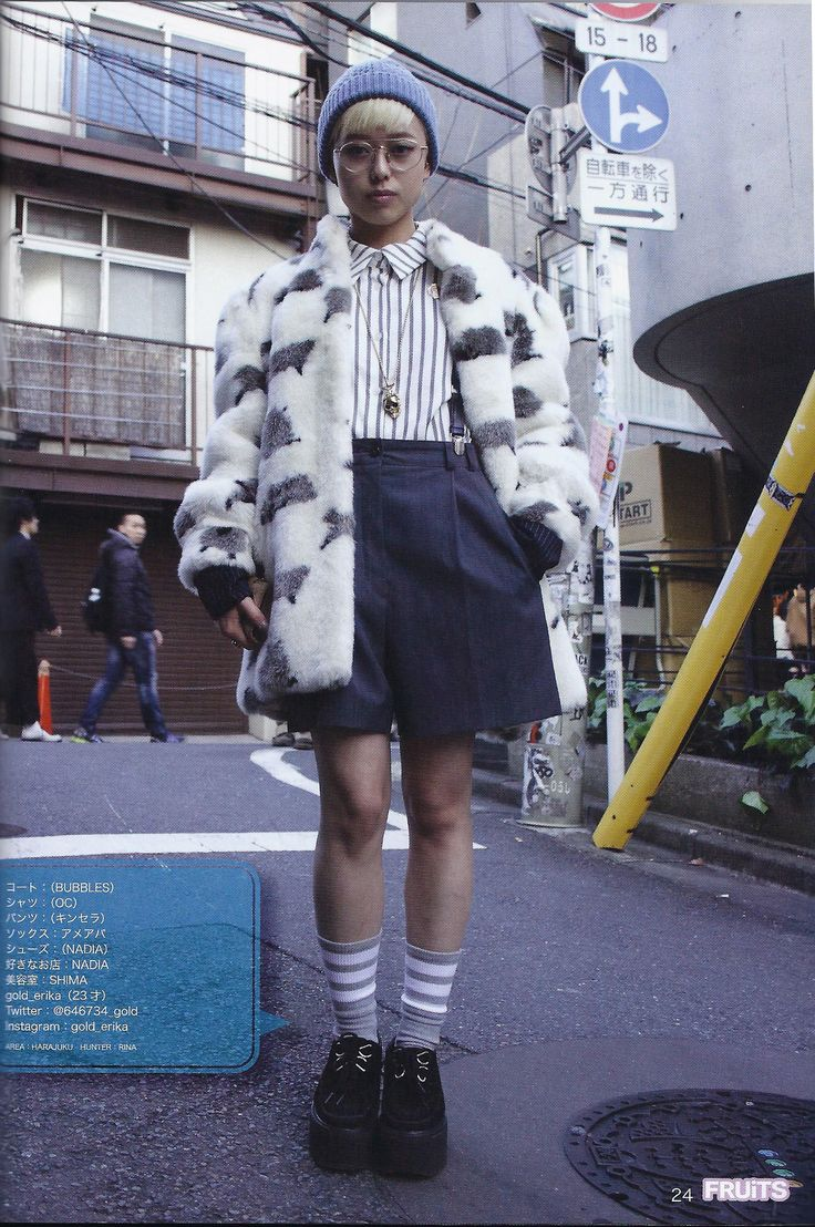 fruits magazine, japanese street style