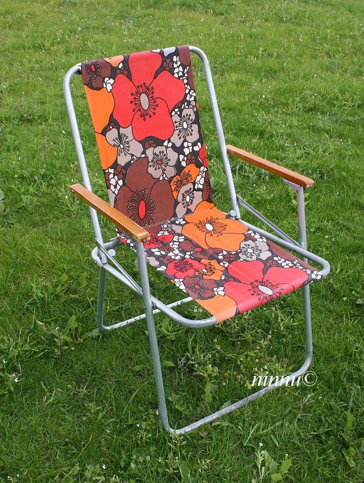 Soolo-puutarhatuoli vuodelta 1977 (70-luvulta, päivää ! -blogi)