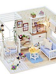 chi divertimento casa diy piccolo modello gatto diario casa di inviare un regalo di compleanno fidanzata creativo