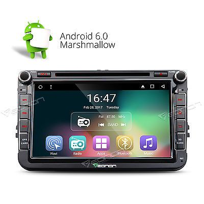 "Price - $295.74. GA7153 Android 6.0 DVD Player GPS For VW Jetta Golf Passat Caddy 8"" Car Stereo 8 ( Screen Size - 8-inch HD Digital capacitive touchscreen, MPN - Does not apply, Brand - Eonon, Operation System - Android Marshmallow 6.0, Resolution - 1024*600, Mutual Control - Betweend head unit and your smart phone, Steering Wheel Control - Support( CANBUS System), WIFI/3G - Support(3G need to buy dongle extra), CPU - Allwinner R16 1.8GHz Cortex A9 Quad-Core, Supports app installation - Yes…"