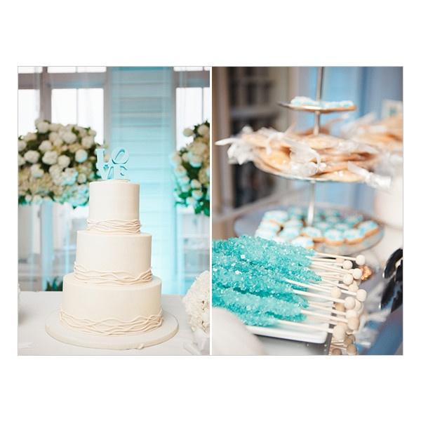 Beach Wedding Dessert Table