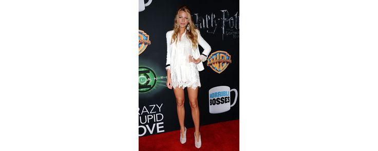 L'actrice américaine portait une robe Dolce & Gabbana de la collection printemps-été 2011 le 31 mars dernier à Las Vegas.