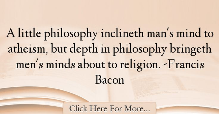 Francis Bacon Quotes About Religion - 58544