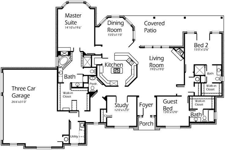 17 best images about floor plans on pinterest european for Korel home designs online