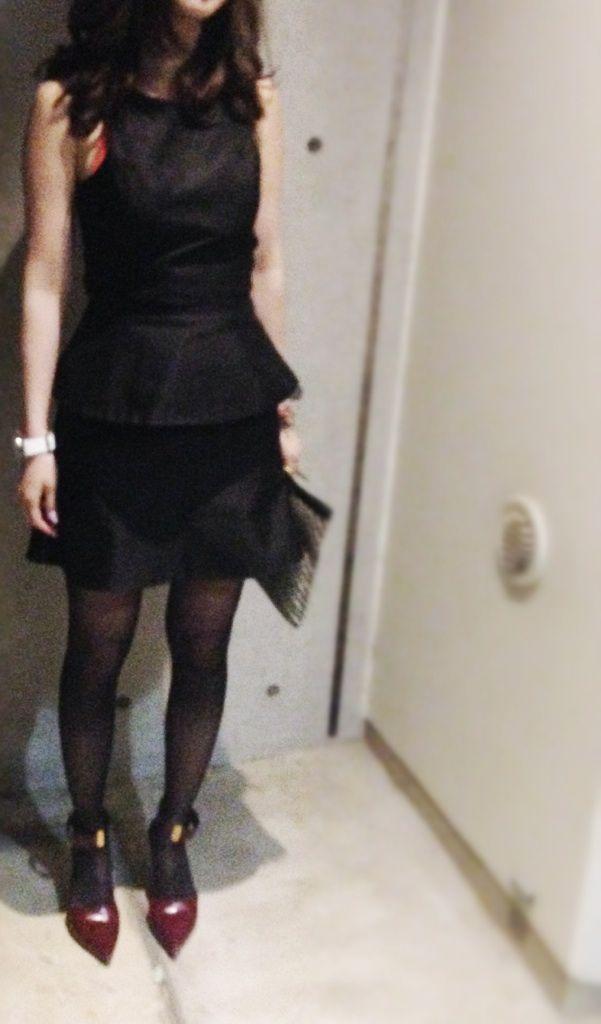 Dress / Camilla and Marc  Jacket / W  Bag / Angel Jackson  Shoes / CELINE
