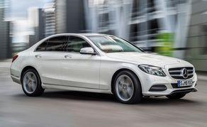 New C Class Mercedes Benz.