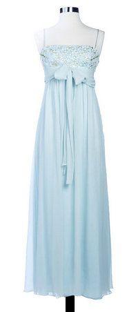 BCBGMazazria Pale Blue Dress - nice bridesmaid dress just in a different colour