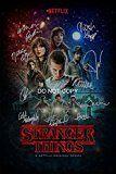 #9: Stranger Things CAST Reprint SIGNED 1218 Poster ALL 10 #1 RP Netflix TV Show