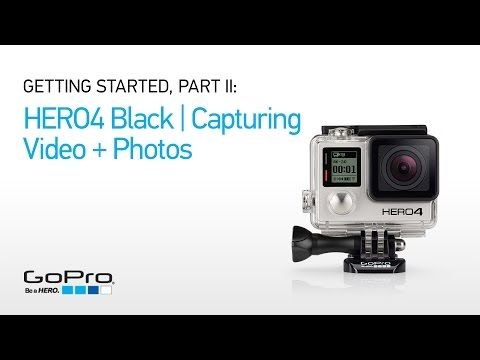 Videocamera GoPro – HERO4 Black/Music: video 4K30 e 1080p120. Comprende i supporti per dispositivi musicali.