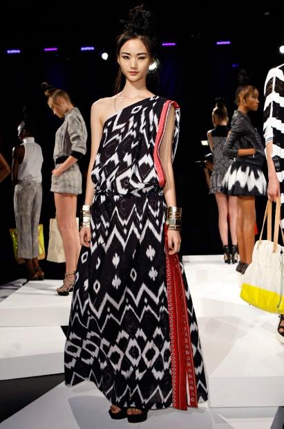 L.A.M.B. Ikat Dress