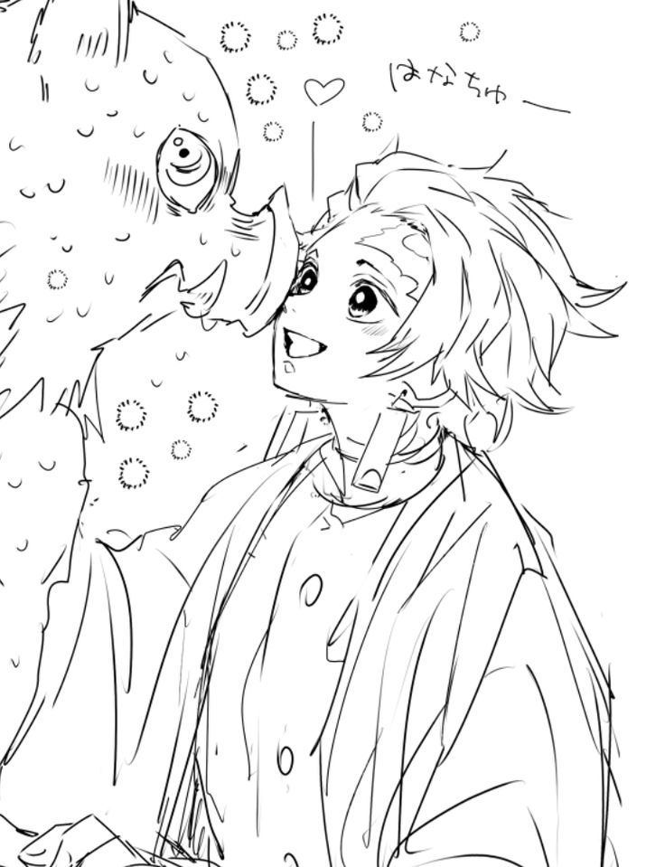 38+ Demon slayer coloring pages information