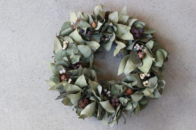 FLEURI (フルリ)| ドライフラワー dryflower リース wreath ユーカリ 木の実