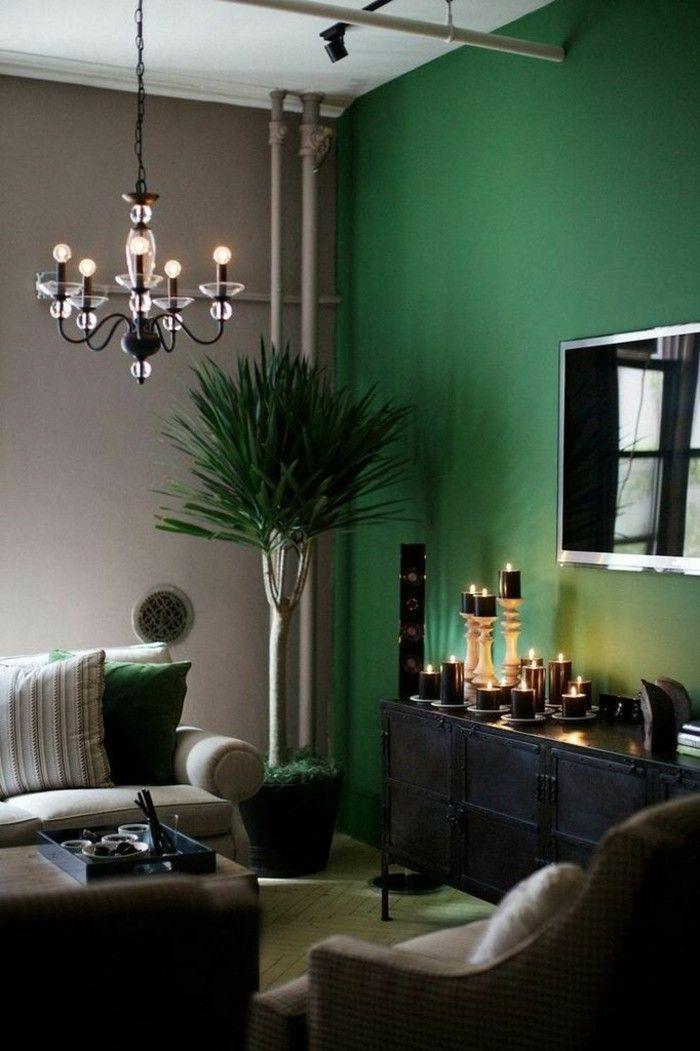 45 Super Ideen für farbige Wände   Farbgestaltung ...