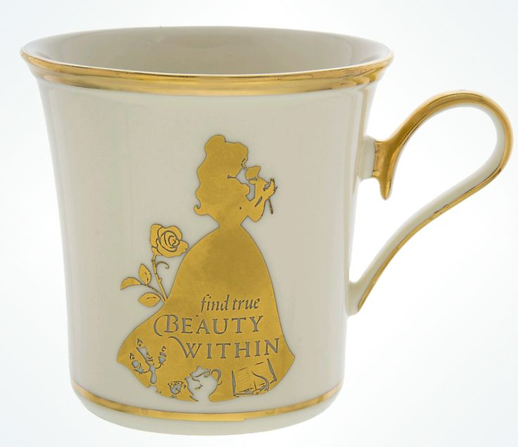 Disney Elegance Is Alive in These Art of Disney Mugs By Lenox