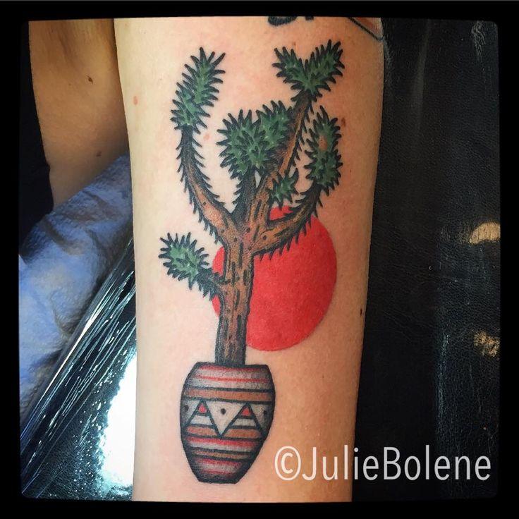 Joshua tree tattoo by Julie Bolene | Tattoos by Julie ...