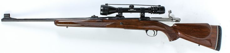 """Lot 2 in the 7.1.14 online & live auction! Browning FN High Power in 30-06 Bolt Action Rifle (ECL). The beautifully finished rifle was manufactured in Belgium and features blued finish, high gloss wood stock, ornate engraving on trigger guard and magazine floor plate, 22"""" barrel, serrated trigger, recoil pad, right hand safety selector, left hand bolt release, and Bushnell Scopechief IV 3X-9X optic. #Gun #Firearm #POGAuctions"""