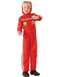 Child: Cars 2 Lightning McQueen Costume
